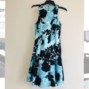 Print A-Like Dress with pockets